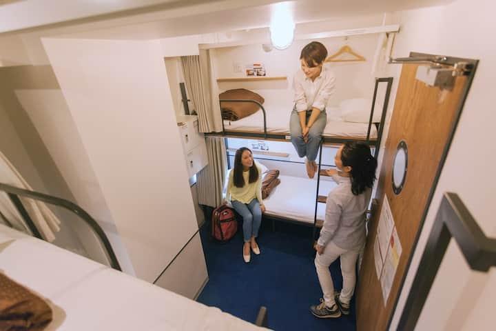Regular Cabin - 2 Bunk bed for 4 people