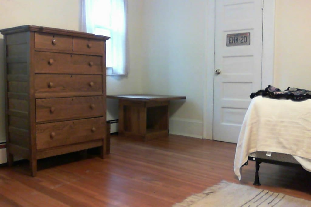 large room with 2 closets
