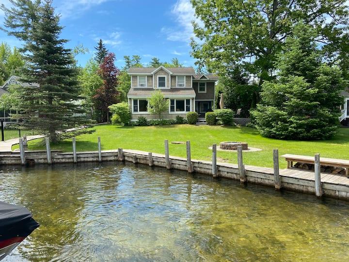 Charming Riverfront Home