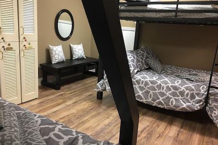 Bunk Room on Lake Lanier sleeps 6+ - Gainesville - Rumah