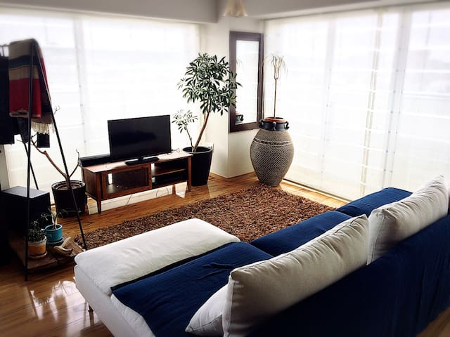 Resort apartment where the sea is in front of you - 藤沢市 - Kondominium