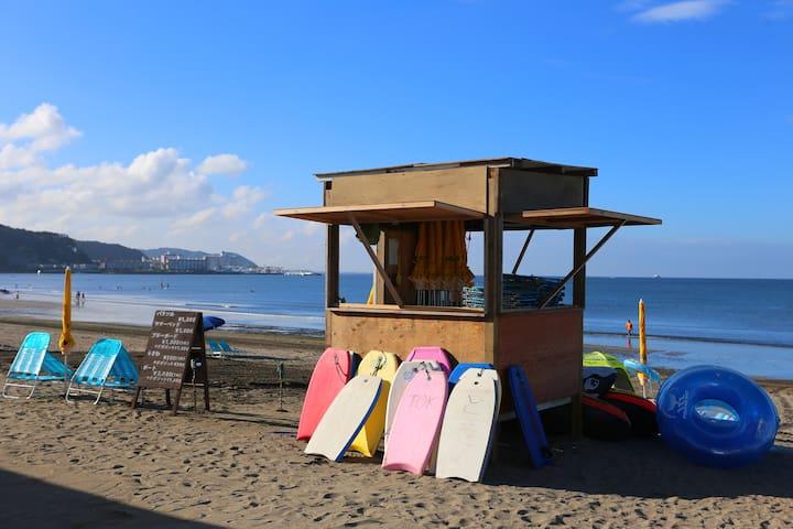 3 min to beach & station Hase-Kamakura