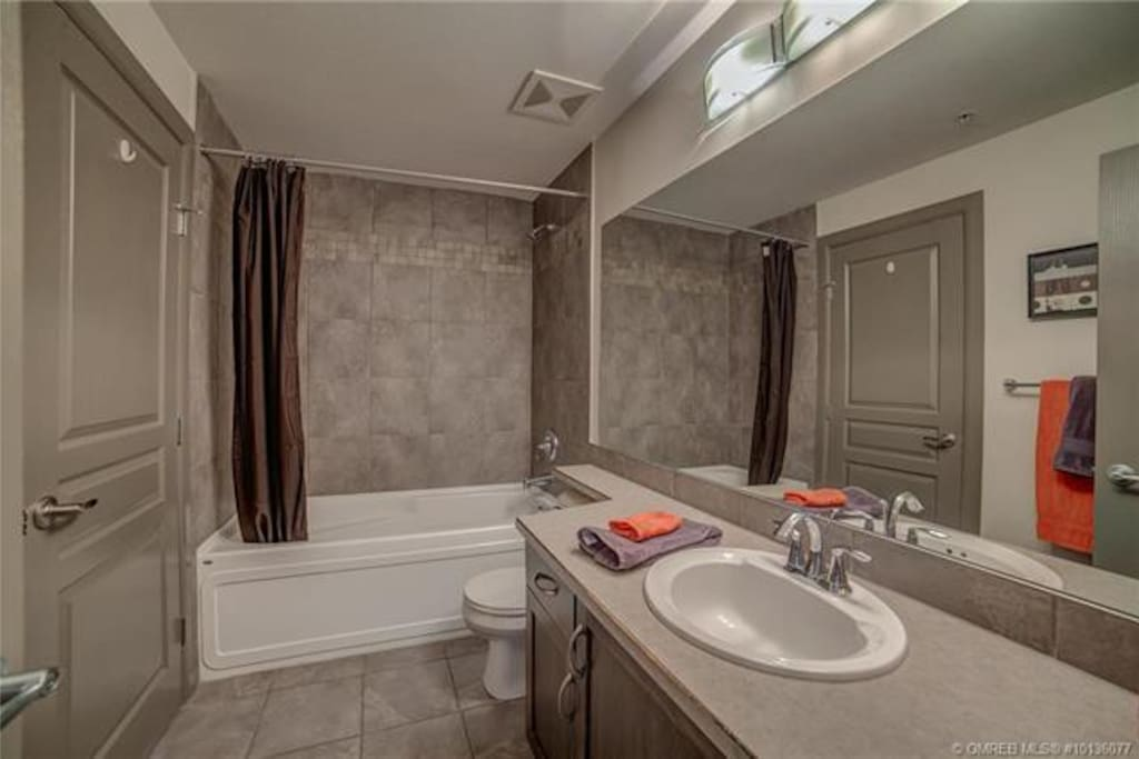 Full spacious bathroom
