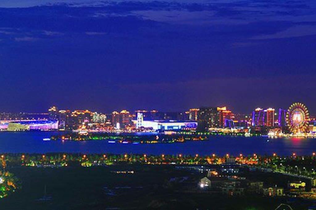 Night view, in new York? no, it's suzhou