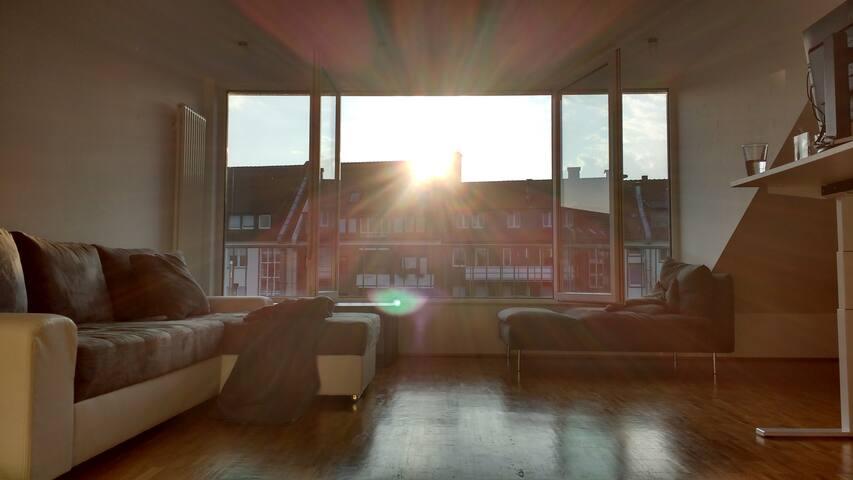 Traum 3Z-Dachwohnung nahe Altstadt! - Münster - Apartamento