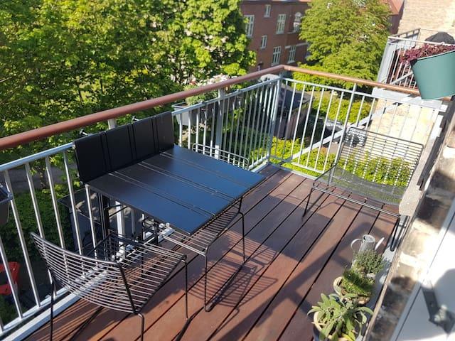 Stort flot værelse i moderne lejlighed