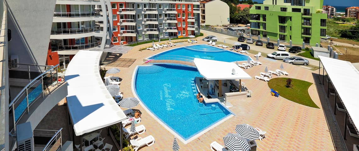 Apartment at Emberli Aparthotel Lozenets Beach BG - Lozenets - Appartement