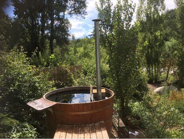 Cabaña Quillay en Shangri-la Lodge, Río Claro