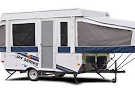 Awsome URBAN - FAMILY camping site 40 min Montreal - Saint-Jean-sur-Richelieu - Lakókocsi/lakóautó