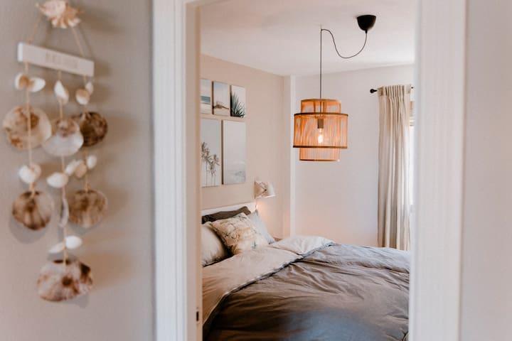 Beachhouse-Style Schlafzimmer