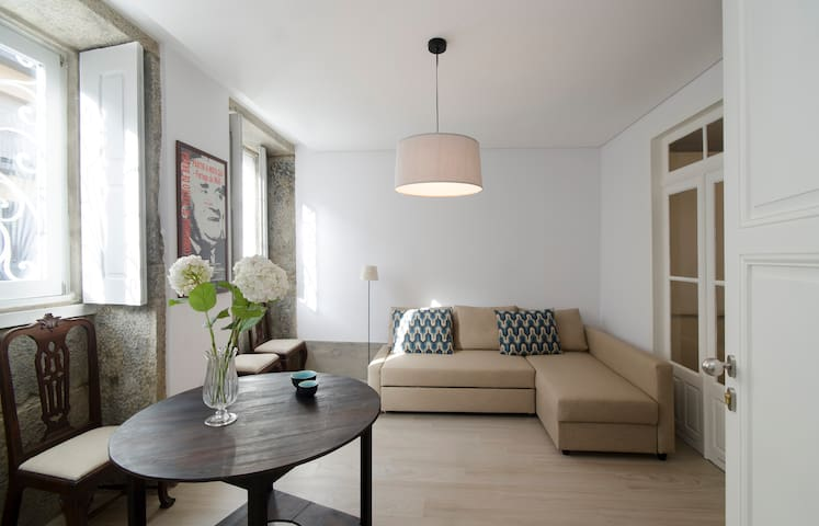 Cosy Ground Floor Historic Center - Braga - House