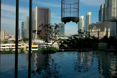Double Deluxe Room-1 @ Dua Sentral KL - Kuala Lumpur - Daire