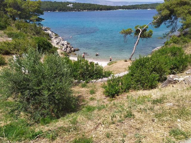 Sea view 20m to the beach, nice holiday apartment