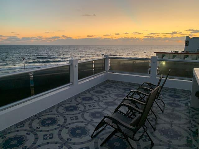 Casitas de Paloma 2nd floor Oceanview Rooftop Ter.