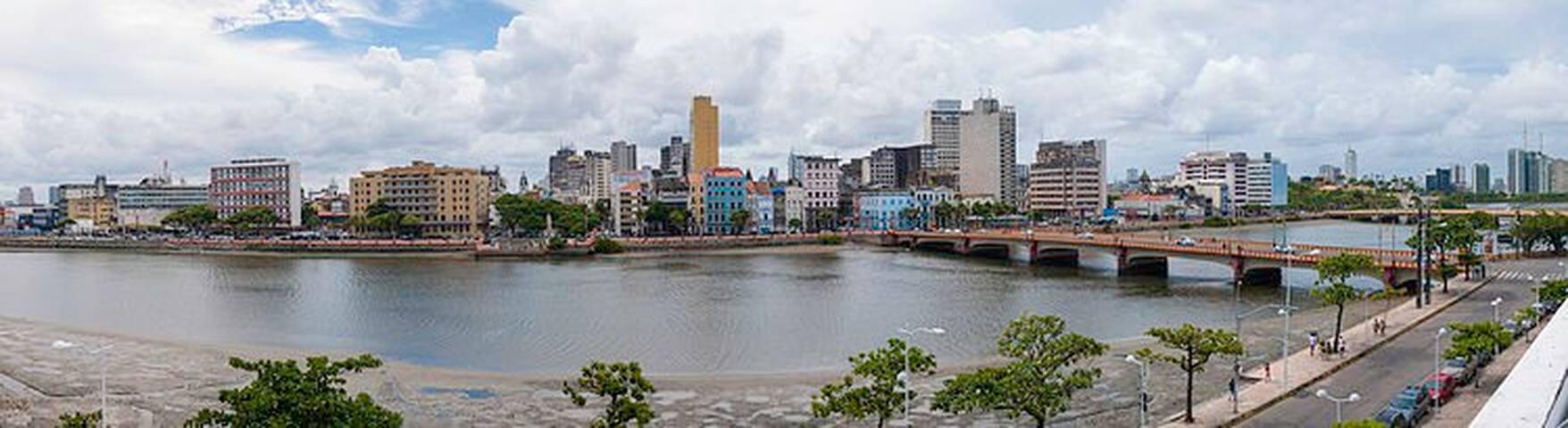 Cantinho acolhedor no centro do Recife-PE