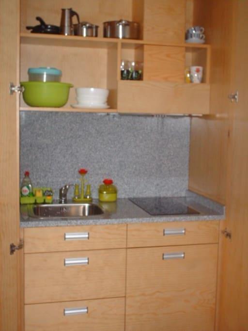 espaço de cozinha