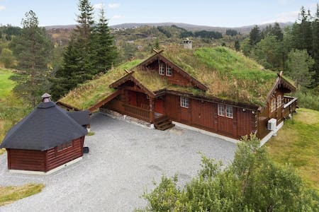 Beautiful Lodge close to Bergen and Hardanger - Nordheimsund  - Casa de campo