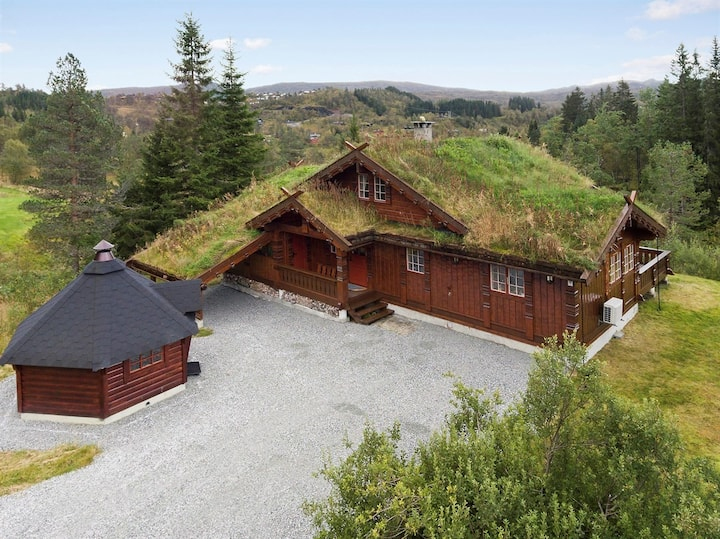 Beautiful Lodge close to Bergen and Hardanger