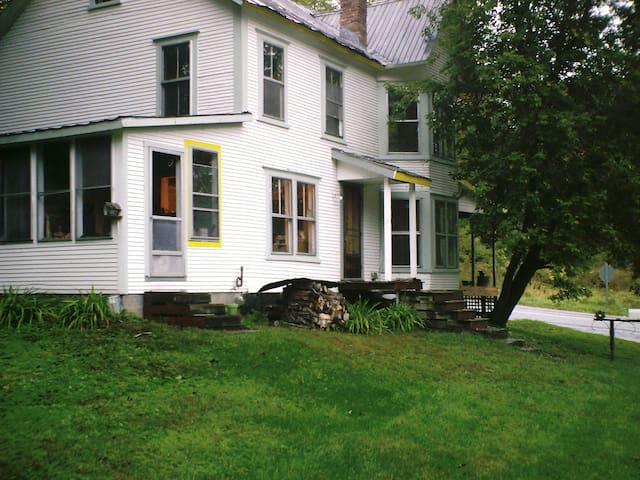 Antique Home on Lamoille River
