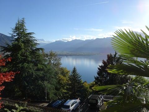 Lake View Lodge - vue spectaculaire sur le lac