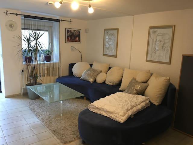 1-Zimmer-Wohnung, renoviert, voll ausgestattet - Lautertal (Odenwald) - Apartament