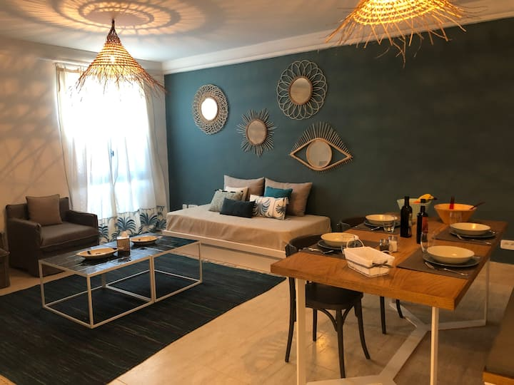 Charmant Appartement au coeur de La Marsa