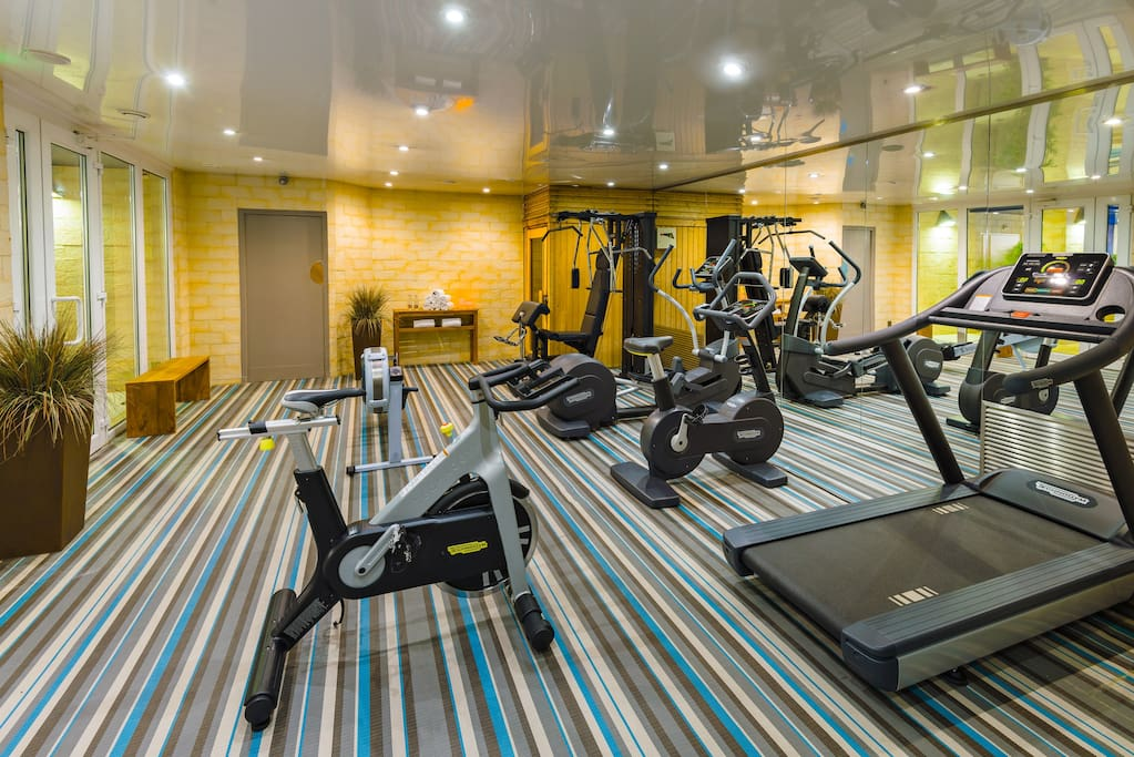 Fitness haut de gamme Technogym