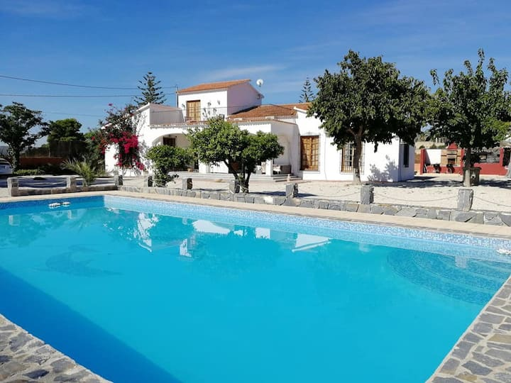 Spanish Finca on Costa Blanca! Up to 16 people