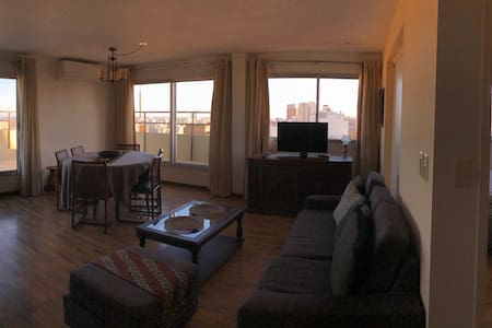 Terraced penthouse with panoramic views!
