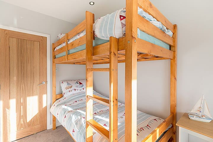 Adult bunk beds X two rooms