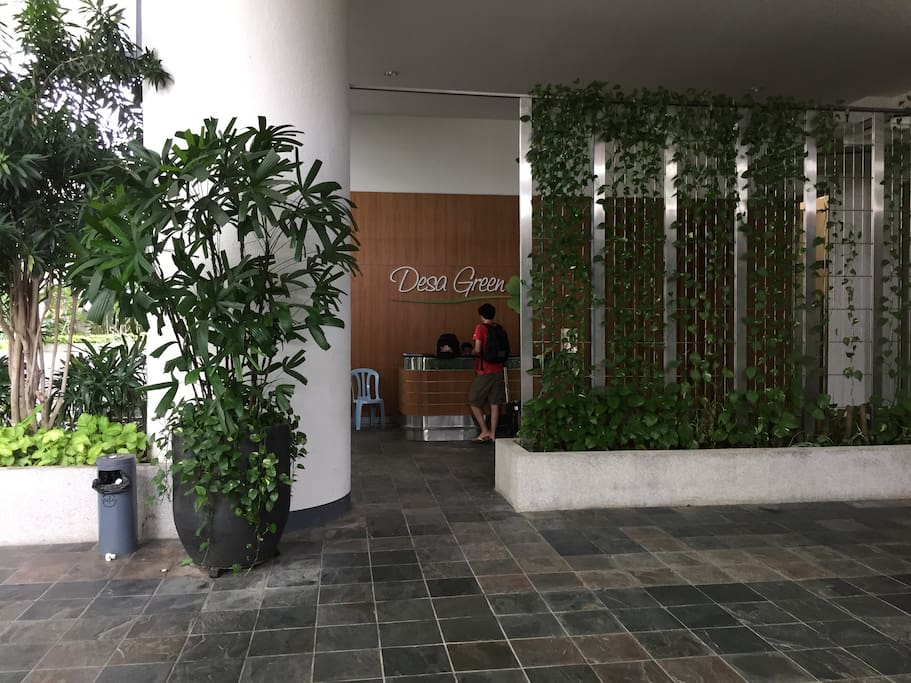 Reception/Security counter