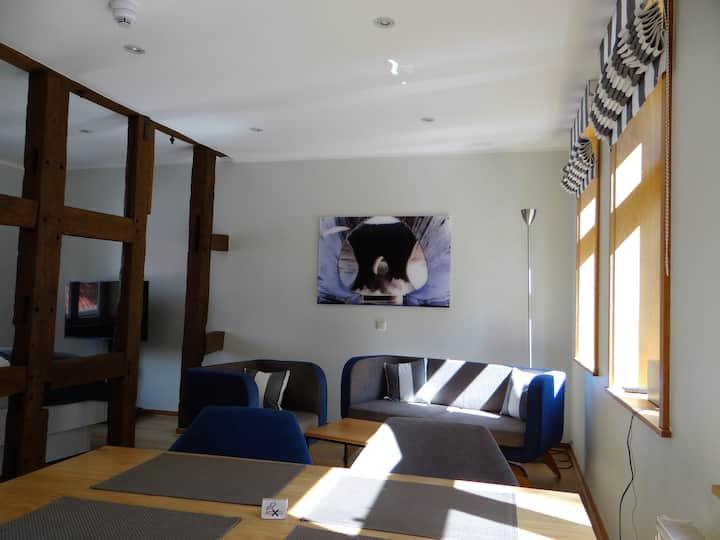 Apartment...modern-historisch-zentral-auf 2 Ebenen