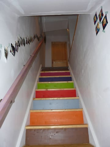 montée 1 er étage