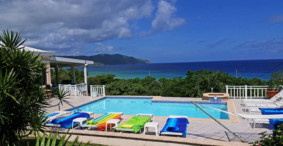 Villa Dawn at Cane Bay Beach, St. Croix, USVI