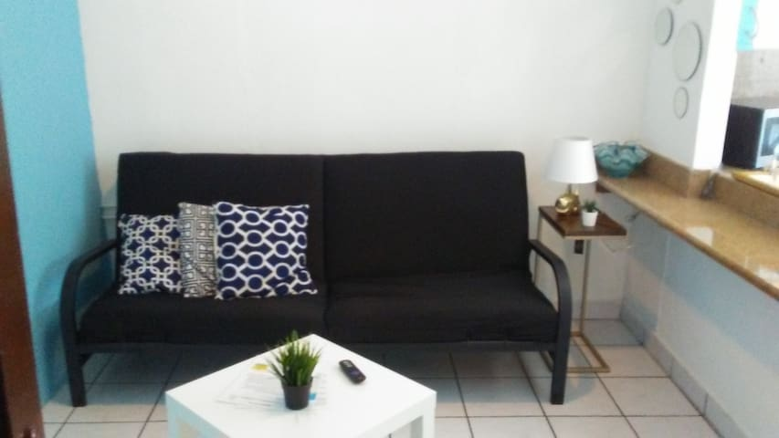 2 bed near beach, food, nightlife on Loiza St.(C)