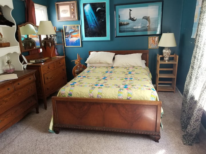 Nice, comfortable and quiet bedroom in Ann Arbor!
