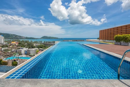 Elegant seaview 1 bedroom apartment@Patong