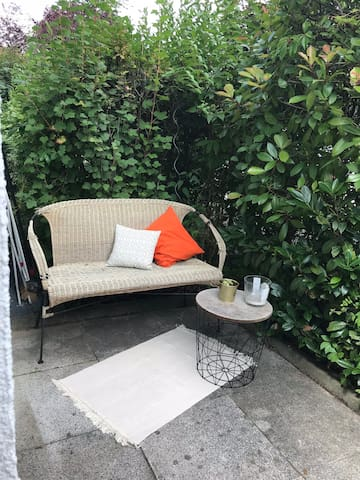 Fresh home with outdoorlounge