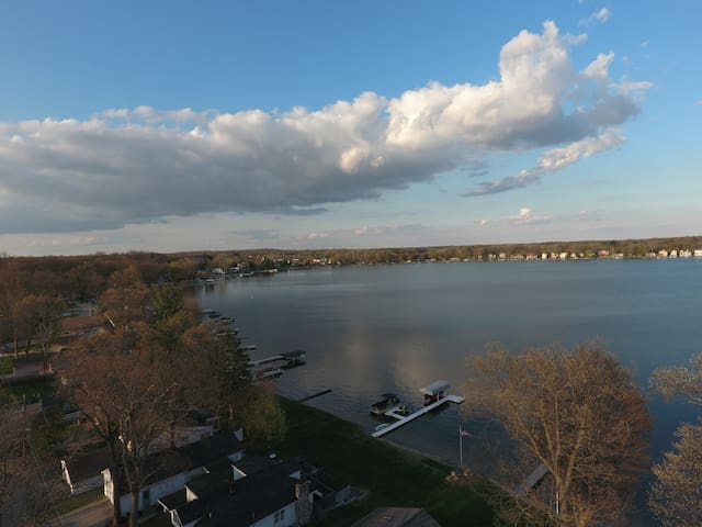 Nautical Home w/BostwickLake Access - Rockford - Huis