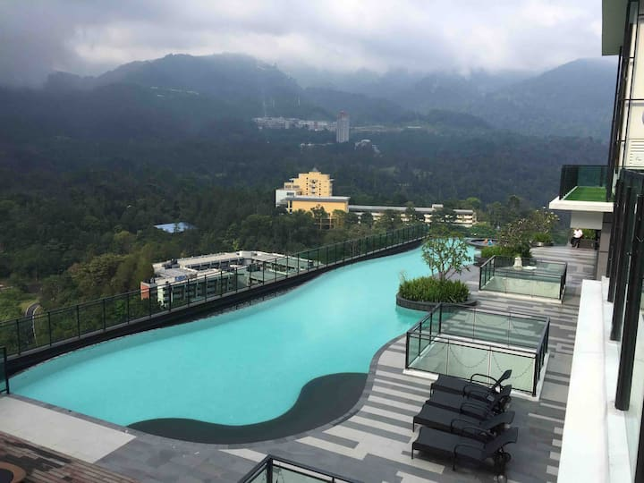 relax home 2BR family trip-vista genting highland