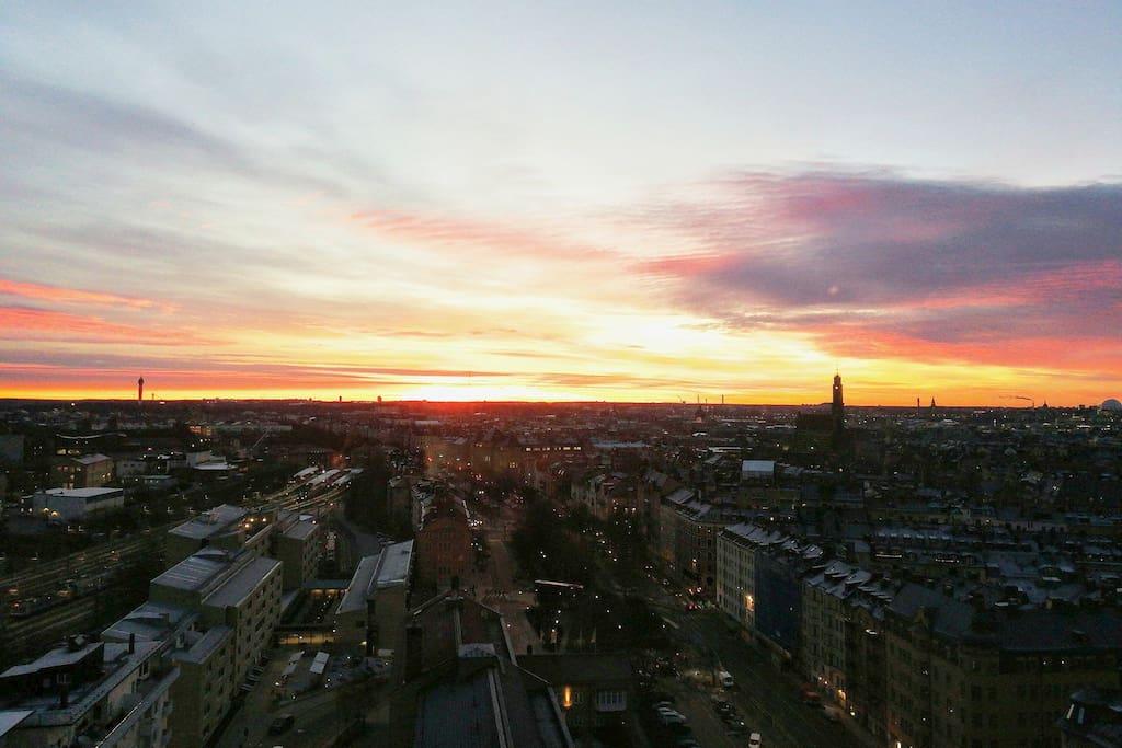 Sunrise - Apartment view