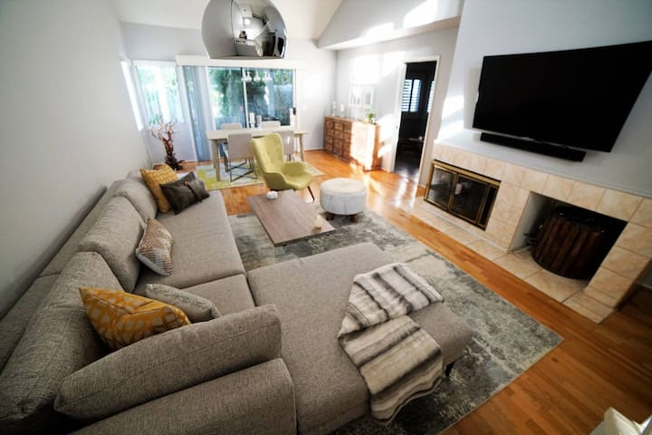 Modern, Bright, Central, and Spacious Home