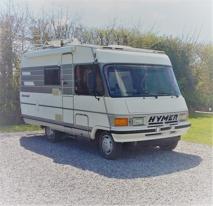 Ziggy Stardust the Classic Hymer-mobile