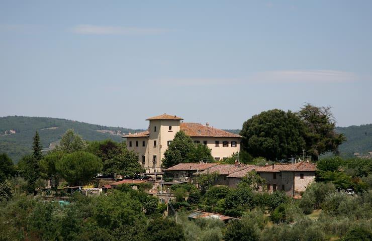 Villa San Marco Artist Tuscan Home - Таварнель Валь ди Пеза - Дом