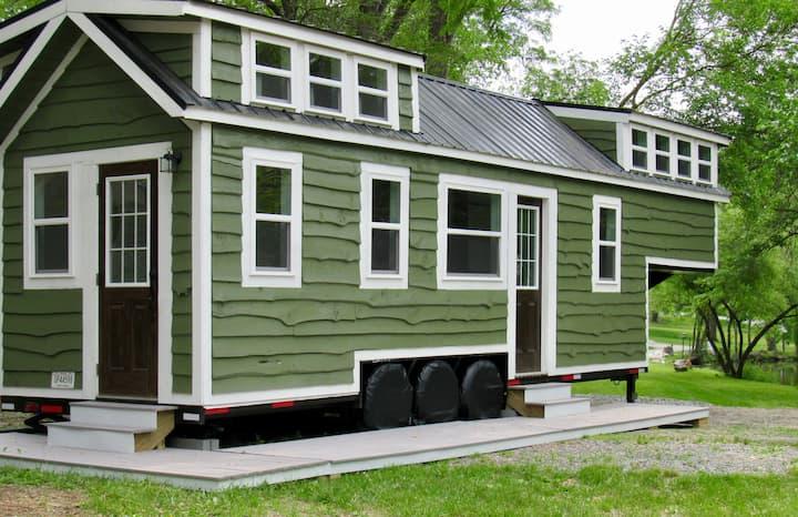 Vision Tiny House on Tiny Estates 14 acres