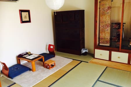 100years old Machiya Near KIX roomA - Izumisano-shi - 一軒家