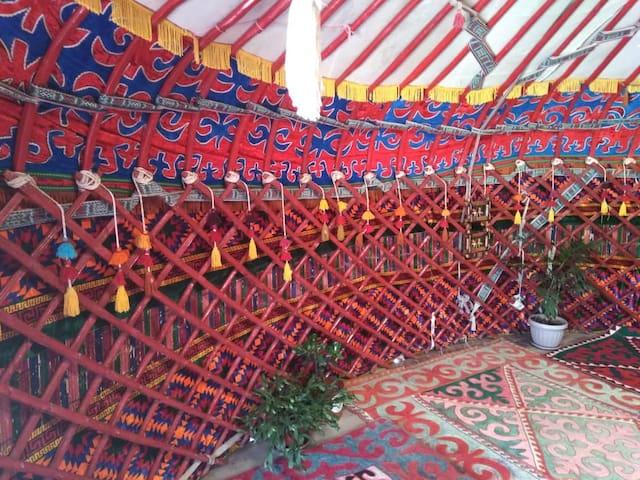 Гостевая юрта - Nomad Yurt! Приглашаем в гости!