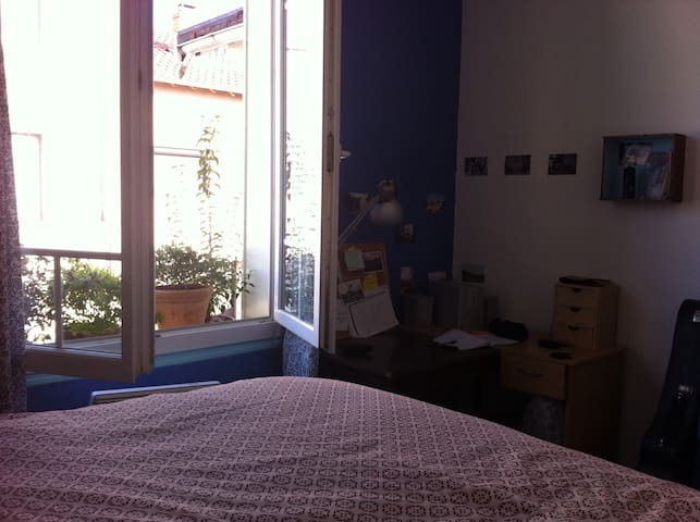 Chambre chaleureuse dans maison avec jardin - 툴루즈 - 단독주택