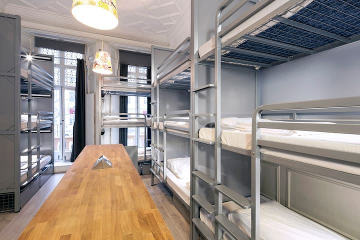 Bed in 15-Bed Mixed Dorm with Ensuite Bathroom