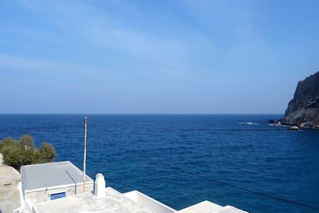 Olga's Seaside Retreat @ Lionas, Amazing sea views
